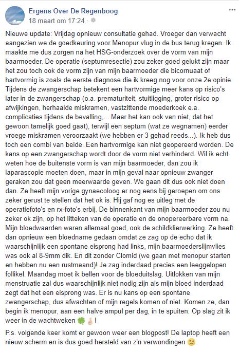 FB bericht 2